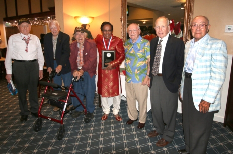 Matt Campbell, Scottie Smith, Charles Asaro, Dr. Shamsher Singh, Richard Ramsey, Peter Behr, Pete Peterson.